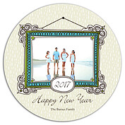 Frame in the New Year Circle - Front