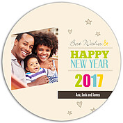 New Year Love Circle - Back