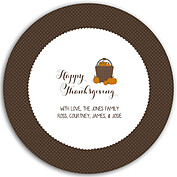 Thanksgiving Love Chocolate Circle - Front