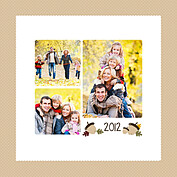 Thanksgiving Love Beige Square - Back
