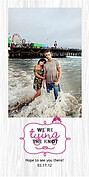 Tying the Knot Save the Date Photo Cards - Vertical