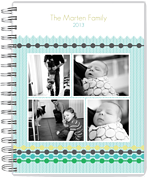4-Beaded Tracks Day Planner - Front