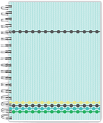 4-Beaded Tracks Day Planner - Back