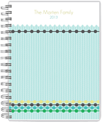 Beaded Tracks Day Planner - Front
