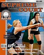 Volleyball Orange - Front