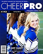 Cheer Blue - Front