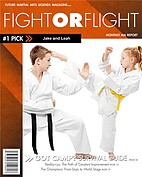 Martial Arts Orange - Front