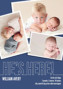 Special Delivery Birth Announcements Magnets - Front