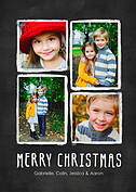 Christmas Collage White - Front