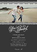 Timeless Invitation Wedding Magnets - Front