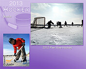 Hockey Purple - Front