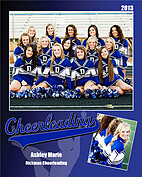 Cheerleading Blue - Front