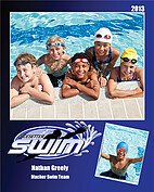 Swimming Blue - Front