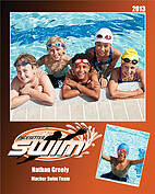 Swimming Orange - Front