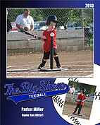 Teeball Blue - Front