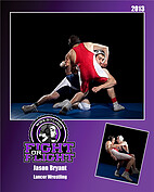 Wrestling Purple - Front