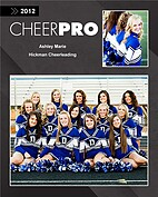 Cheerleading Black - Front