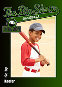 Baseball Green Trader Cards - Front