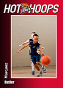 Basketball Red Trader Cards - Front