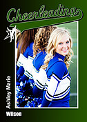 Cheerleading Green - Front