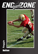 Football Black Trader Cards - Front