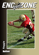 Football Gold Trader Cards - Front