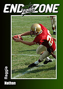 Football Green Trader Cards - Front