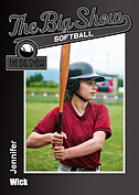 Softball Black Trader Cards - Front
