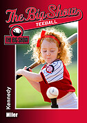 Teeball Red Trader Cards - Front