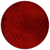 Damask Seal Circle - Back