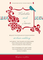 Frame Focus Wedding Invites Flat Cards - Front