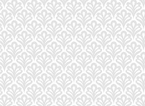 Scalloped Pattern Thank You Flat Cards - Back