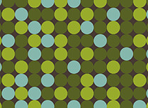 Sea of Dots Reception Flat Cards - Back