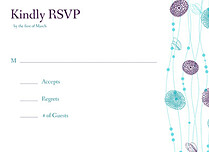 Tangled Jellies RSVP Flat Cards - Front