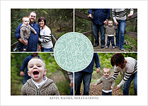 Family Favorites Christmas Flat Cards - Front