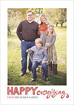 Marquee Moments Holiday Flat Cards - Front
