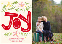Simply Jubilant Holiday Flat Cards - Front
