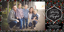 Timeless Tidings Photo Card - Horizontal