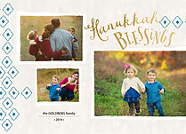 Pleasant Moments Hanukkah Flat Cards - Front