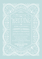 Sweet Union Invitation Wedding Invites Flat Cards - Front