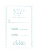 Sweet Union RSVP RSVP Flat Cards - Front