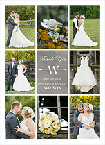 Vibrant Vows Thanks - Front