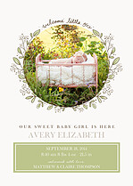 Amazing Addition Birth Announcements Flat Cards - Front