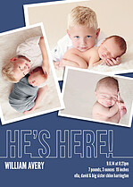 Special Delivery Birth Announcements Flat Cards - Front
