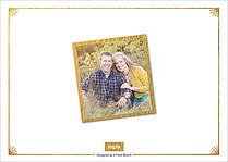 True Love Date Save the Date Flat Cards - Back