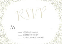 Diamond RSVP RSVP Flat Cards - Front