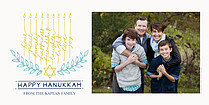 Hanukkah Happiness - Horizontal