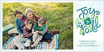 Around The World Photo Card Holiday Photo Cards - Horizontal