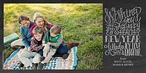 Clean Slate Photo Card - Horizontal
