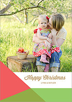 Grateful Gathering Christmas Flat Cards - Front